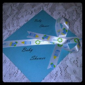 Blue Baby Shower Invitation. (50 Count)